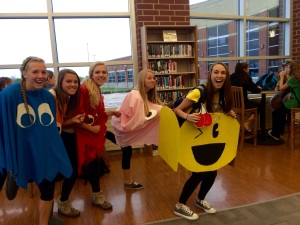 Pictured: Hope Willenbrink, Teagan Twombly, Jaelynn Simms, Sierra Squires and Alyssa Sachs