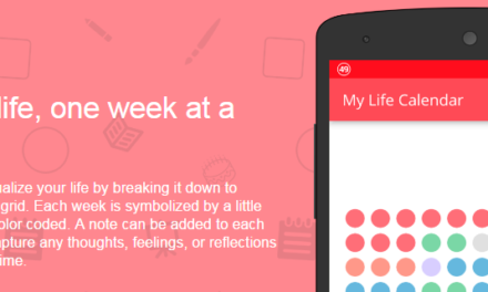 LifeCalendar – capture your life one week at a time