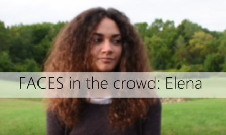 Faces in the Crowd: Elena Cannata