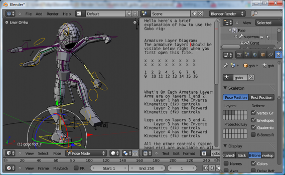 Introducing Character Animation with Blender